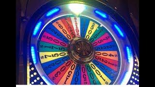 High Stakes Wheel of Fortune Top Dollar Slot Machine Bonuses The D Las Vegas W/Christy