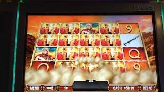Leonidas Slot Machine Line Hits & Embarrassing Bonus Fail