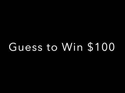 Guess and Win $100 (Jul 26 2015  - Aug 2 2015) ** SLOT LOVER **