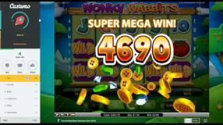 Saturday Slots with The Bandit - Reel Races, Wonky Wabbits, Fruit Warp and More