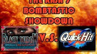• The Raja Plays Quick Hit But Wins On Black Widow Slots! •