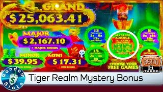 ⋆ Slots ⋆️ New - Tiger Reign Gold Stacks 88 3 Reel Slot Machine Mystery Bonus