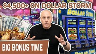 ⋆ Slots ⋆ $4,500+ Won on HIGH-LIMIT Dollar Storm from MULTIPLE MINI BOOMS ⋆ Slots ⋆ MORE Slots at Gr