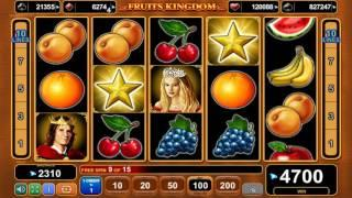 Fruits Kingdom slot - 5,900 win!