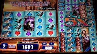 Van Helsing Slot Machine Bonus - Colossal Reels - 12 Free Games Win with 5x Colossal Reels Pays