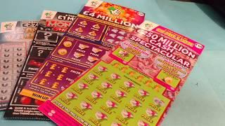 The BIG MUMMY & DADDY Scratchcard Game...Cash Vault..Millionaire Monopoly