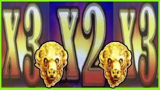 • HUGE WIN on Buffalo Gold • The multipliers were on FIRE •