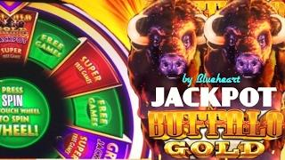 •BIG BETS BIG WINS?• BUFFALO GOLD slot JACKPOT on WONDER 4 and BONUS WINS!
