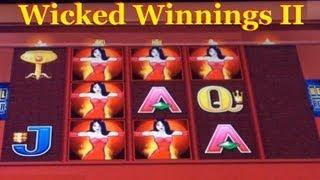 Wicked Winnings II Slot Machine Hits And Re-spin! ~ Aristocrat (Wicked Winnings 2)