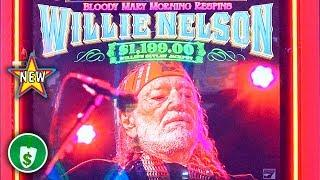 •️ New - Willie Nelson slot machine, bonus