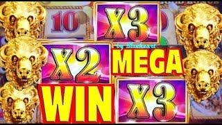 •COULD HAVE BEEN A JACKPOT!• BUFFALO GOLD slot machine BONUS WINS and MORE!