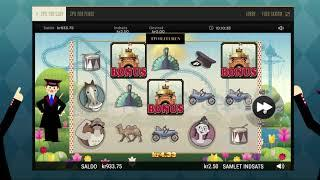 Tivolituren – Eksklusiv spilleautomat fra Tivoli Casino – Tag en tur i rutsjebanen