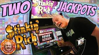 20 Free Games! •STINKIN' RICH DOUBLE WIN$! •  The Big Jackpot