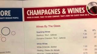 Carnival Cruise Line Bar Drink Menu Prices
