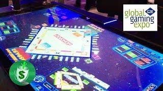 #G2E2017 Scientific Games - Monoply Millionaire, Hot Shot, Evolution slot machines
