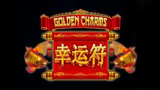 Golden Charms Slot - NICE SESSION, ALL FEATURES!