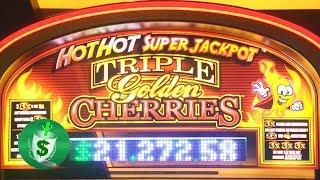 ++NEW Triple Golden Cherries slot machine