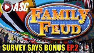 *NEW* FAMILY FEUD | SURVEY SAYS BONUS (EP.2) Slot Machine Bonus (AGS)