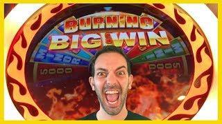 •Burning BIG WIN • After Burner • San Manuel Casino • Brian Christopher Slots
