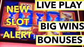 NEW SLOT ALERT!!! LIVE PLAY and BONUSES on Dumb and Dumber Slot Machine with BIG WINS!!