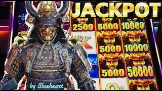 • HUGE JACKPOT • FIRST TRY! WILD WILD SAMURAI slot machine HANDPAY !