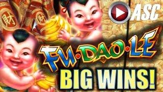 •BIG WIN!• FU DAO LE (w/ FU YANG | BUTTERFLY SWORD | DUAN WU) Slot Machine Bonus (SG/Bally)