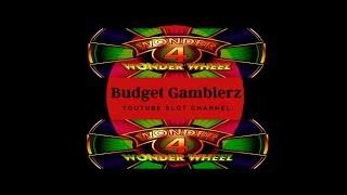 WONDER 4 WONDER WHEEL ~ Buffalo Gold Free Spin Bonus ~ Live Slot Play @ San Manuel