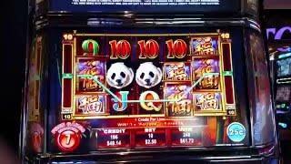 BIG WIN Ainsworth Panda King 25c Denom Free Spin bonus