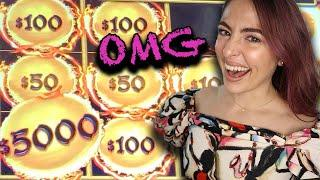 MASSIVE HANDPAY JACKPOT on Dragon Cash Game with Insane Session! Part 1!