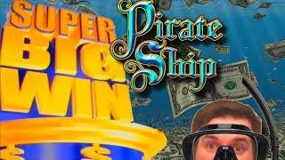 Diving For Dough! SDGuy Hits a Super BIG WIN on Pirate Ship Slot Machine