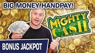 ⋆ Slots ⋆ HIGH-LIMIT Mighty Cash: Big Money HANDPAY ⋆ Slots ⋆ $25 Slot Spins in LAS VEGAS