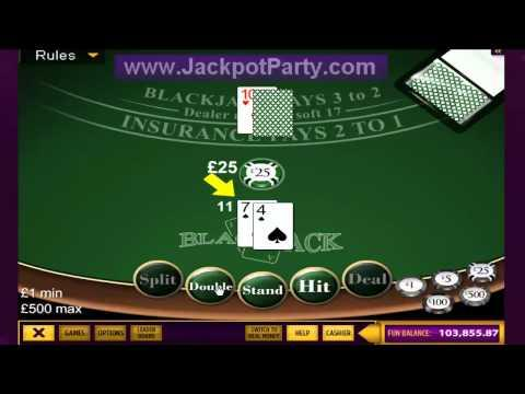 How to play blackjack video tutorial