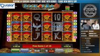 Online slots HUGE WIN 1,6 euro bet - Book of Ra 6 deluxe BIG WIN