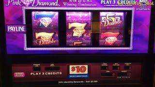 High Limit Free Play Live Series#9•Double PINK DIAMOND Slot Max Bet $30(FreePlay$1,500.00)+Jackpot