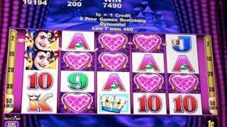 Harlequin Hearts - Aristocrat - Slot Bonus Feature