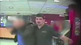 Angry Gambler in Wolverhampton William Hill
