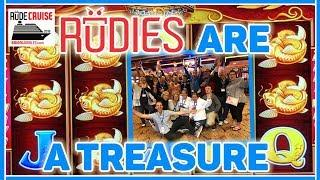 • RUDIES are a TREASURE!! • Aboard the 'RUDIES' Princess!• • Brian Christopher Slot Cruise