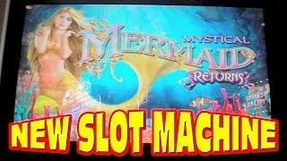 Mystical Mermaid Returns NEW SLOT MACHINE Bonus Free Games Win
