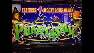 *Old School Konami* PHANTASMIC Slot Bonus at Coushatta