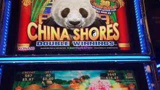 China Shores Slot Machine Bonus & Line Hits