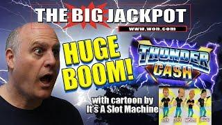 • ANOTHER HUGE BOOM •LUCKY WIN ON THUNDER CASH! •