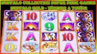 • BUFFALO COLLECTION •  BUFFALO GOLD • WONDER 4 TOWER SUPER FREE GAMES • SLOT MACHINE POKIES •