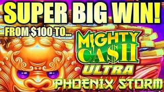 STARTED WITH $100 AND CASH OUT AT??? ⋆ Slots ⋆ PHOENIX STORM MIGHTY CASH ULTRA Slot Machine