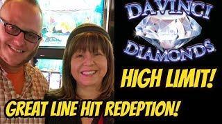 DAVINCI DIAMONDS REDEMPTION? HIGH LIMIT SLOT MACHINE