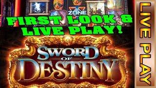 SG/Bally * SWORD OF DESTINY * - NEW SLOT GAME!! - LIVE CASINO PLAY