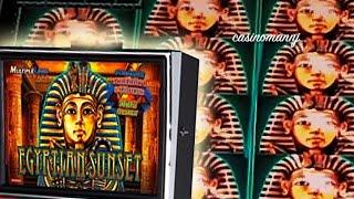 Konami - Egyptian Sunset - Line Hit - Slot Machine Bonus