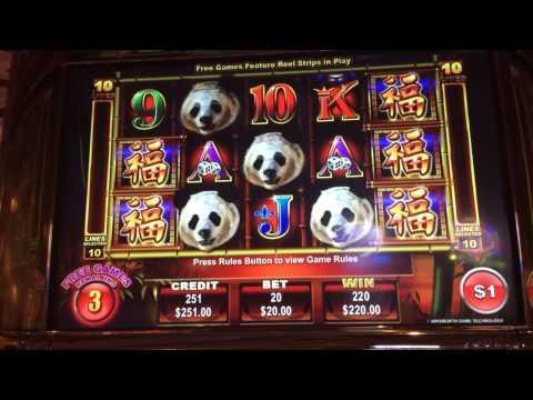 Panda King HANDPAY jackpot bonus win