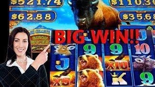 BIG WIN• •Alaskan Storm• another try at •Bison Bucks