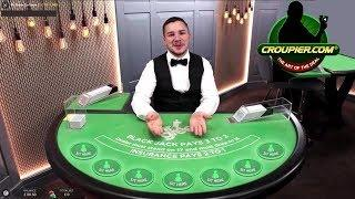 Live Dealer Blackjack Terminator at Mr Green Online Casino!