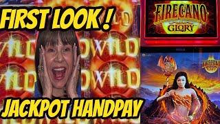 OMG! JACKPOT HANDPAY-NEW GAME FIRECANO GLORY